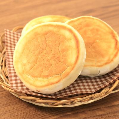 発酵なし フライパンで米粉あんパン