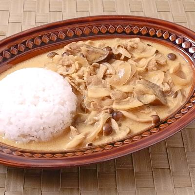 豚肉とナスのココナッツカレー