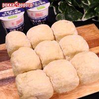 簡単もちもち!豆乳で作ったヨーグルトのちぎりパン