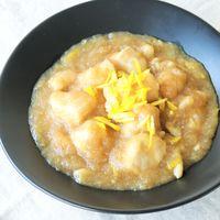 鶏むね肉のおろしポン酢煮 ゆず風味