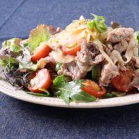 牛肉と新玉ねぎのマリネサラダ