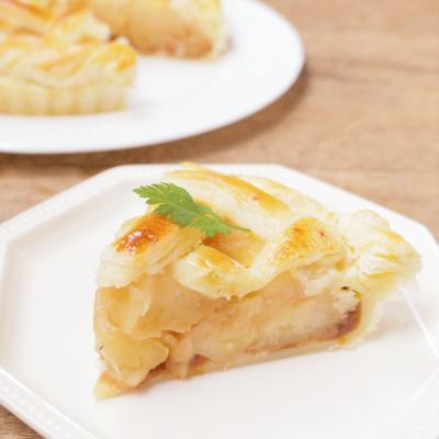 りんごたっぷり シナモンアップルパイ