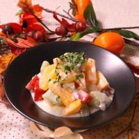 さっぱり美味しい!柿のヨーグルトフルーツサラダ!