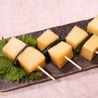 レンジで簡単!タケノコの若竹煮風ピンチョス