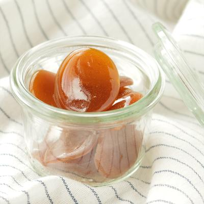 ほっこりする味  はちみつ生姜のレモン飴