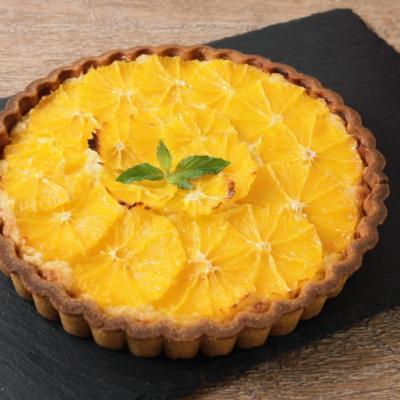 さわやかオレンジのアーモンドタルト