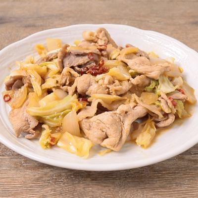 焼肉のタレで簡単 キャベツと玉ねぎの回鍋肉風