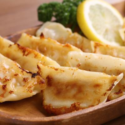 塩レモンチーズの餃子