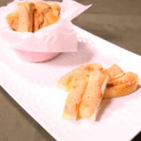 食パンで!たらこマヨラスク