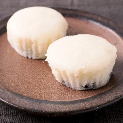 米粉の黒豆蒸しパン