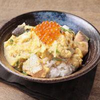 めんつゆで作る鮭とイクラの親子丼