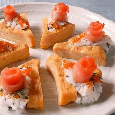 一口サイズのちらし寿司