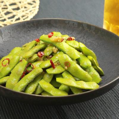 枝豆のペペロン炒め