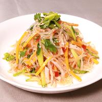 ピリッと美味しい!激辛春雨サラダ