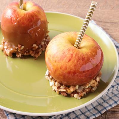 丸ごとリンゴで タフィーアップル