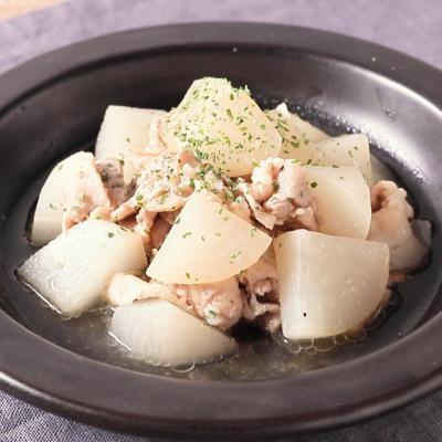 豚バラ肉と大根の洋風煮