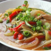 レンジで鶏の中華煮