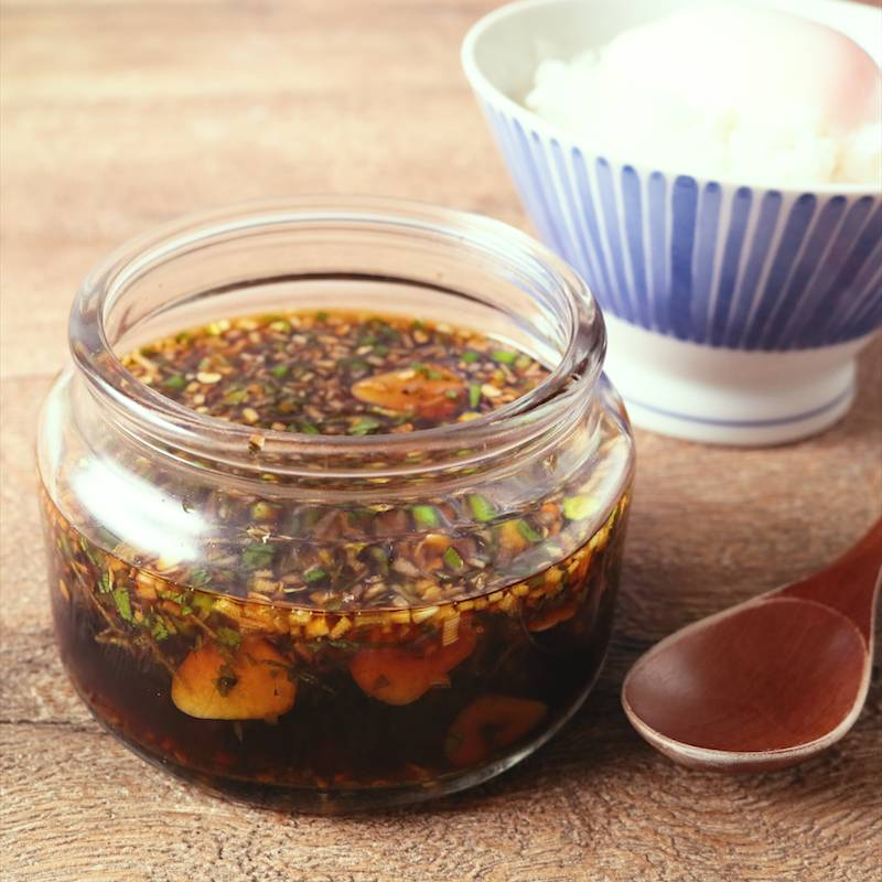 ニンニク醤油の作り方