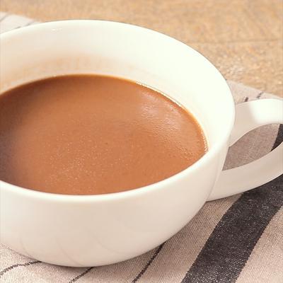 ジンジャーココア風味のバターコーヒー