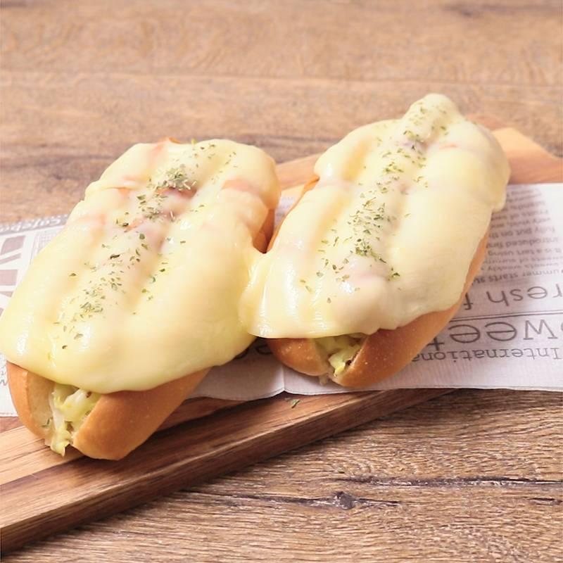 アレンジ コッペパン 【みんなが作ってる】 コッペパン
