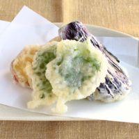 マヨネーズでカラッと野菜の天ぷら