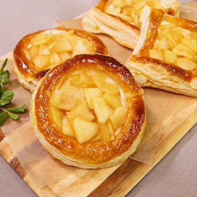 クリームチーズ入りアップルパイ