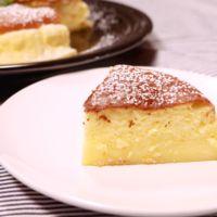 スライスチーズで!スフレチーズケーキ