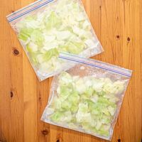 キャベツの冷凍保存方法