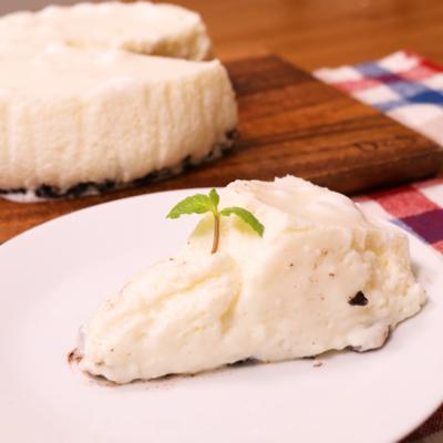 マシュマロで!口どけチーズケーキ