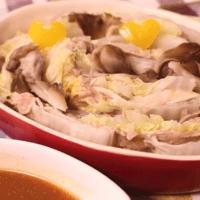 野菜と豚肉のミルフィーユ蒸し