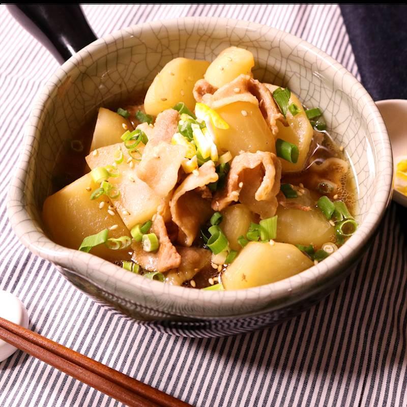 カブ 豚肉 レシピ