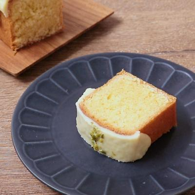 ホワイトチョコレートのパウンドケーキ