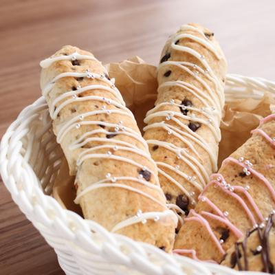 子供と簡単に作れる スナックパン