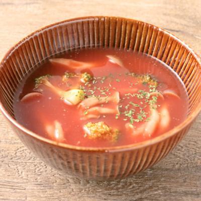 ジュースで簡単 トマトスープ