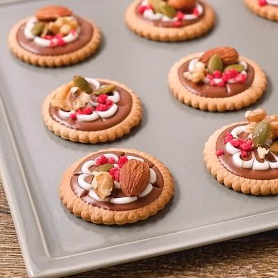 かわいく仕上げて 簡単デコクッキー