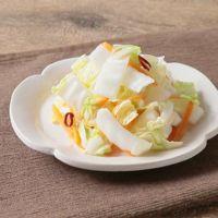 白菜とにんじんの生姜甘酢浅漬け