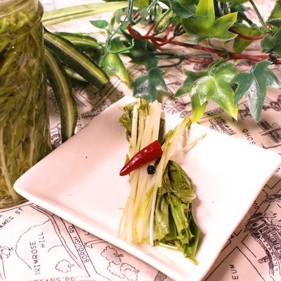 水菜のピクルス