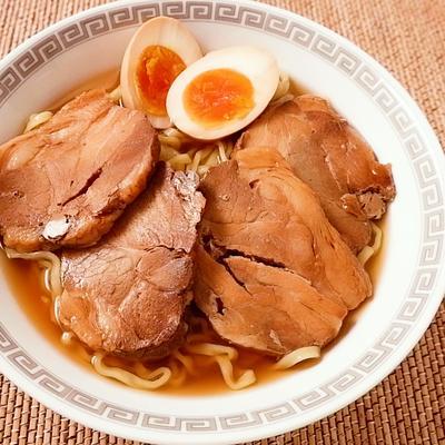 お手軽 チャーシュー麺