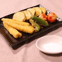サクッと美味しい!野菜のカレーフリット