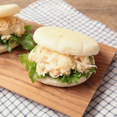 鮭ポテサラのサンドイッチ