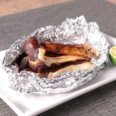 松茸のホイル焼き