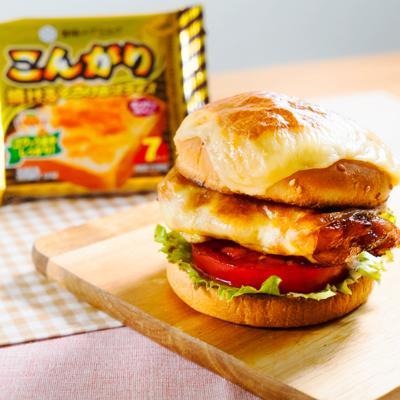 焼きチーズが最高 こんがりチーズのテリヤキチキンバーガー