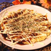 とろふわ!やまと芋と豆腐のヘルシーお好み焼き