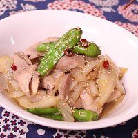 ピリ辛!豚肉のスタミナ山椒焼き