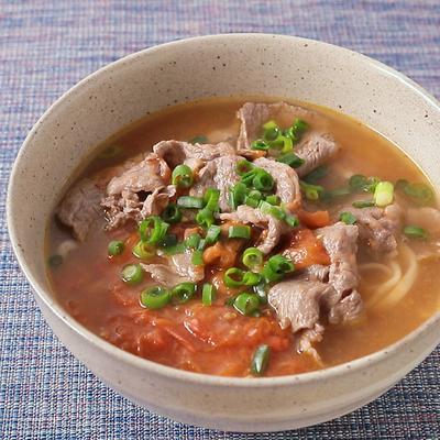 台湾の味 あっさりスープの牛肉麺