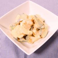 きゅうりと卵のシンプルサラダ