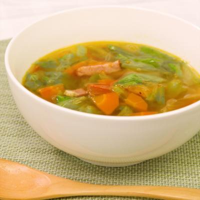 簡単!レタスたっぷりスープ