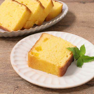 ゴロゴロオレンジパウンドケーキ