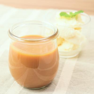簡単アレンジ 塩キャラメルソース