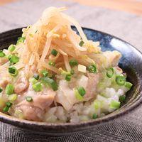ガッツリ食べる豚肉のねぎ塩丼